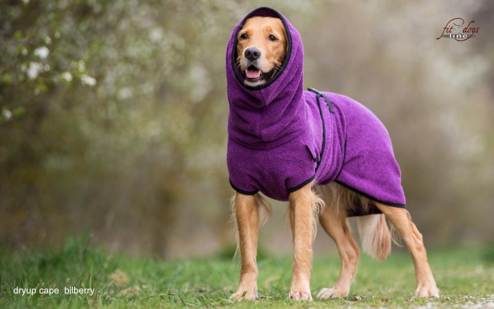 Dryup Cape Trockencape-Hundebademantel  lila<br />44,99 € *