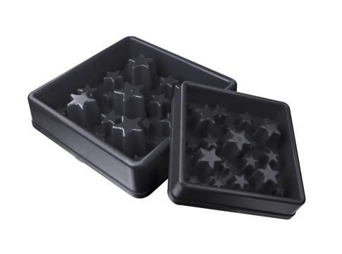 Anti Schling Napf grau , Sterne, verschiedene Größen<br />13,05 &euro; *