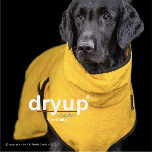 Dryup-Cape-Hundebademantel-yellow-gelb
