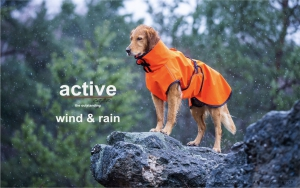 Hundemantel---ACTIVE-cape-WIND--RAIN-Mini-orange-versandkostenfrei