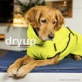 Dryup Cape Hundebademantel lime