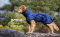 Hundemantel - ACTIVE cape WIND & RAIN Mini dark blue, versandkostenfrei